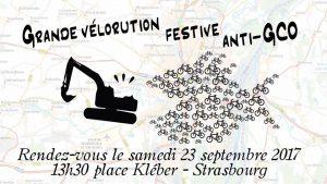 la velorution à Strasbourg