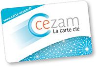 Logo carte Cezam