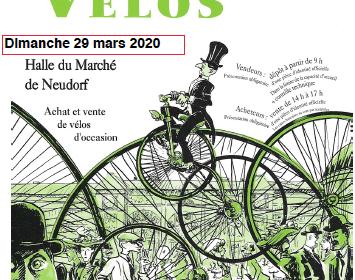 Bourse aux vélos : 29 mars 2020